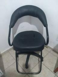 Cadeira de cabeleireiro + poltrona