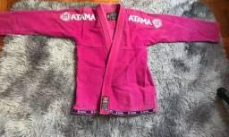 Kimono Rosa de Jiu-jítsu Atama