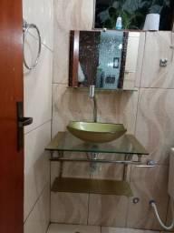 Pia de banheiro kit
