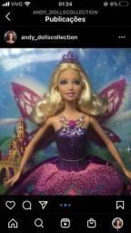 Boneca Barbie butterfly princess Catarina nova