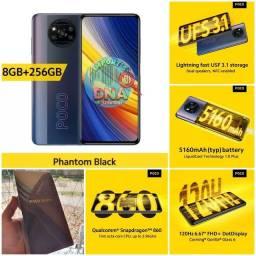 Smartphone POCO X3 8gb/256gb snapdragon 860 LANÇAMENTO