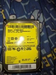 HD Interno 500 gb Samsung 2,5