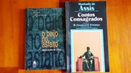 Livros: O Beijo no Asfalto e Contos Consagrados