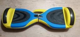 """Hoverboard 6,5"""" Polegadas - Smart Balance - Bluetooth - Bateria Samsung C/Led/ C/Alça"""