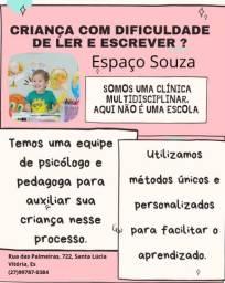 Título do anúncio: Reforço escolar/ Psicóloga