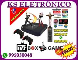 Box Retrô Gamer 02 joistik Sem fio.