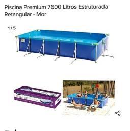 Piscina retangular Mor 7600L