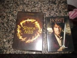 Box Trilogia senhor dos anéis E O hobbit