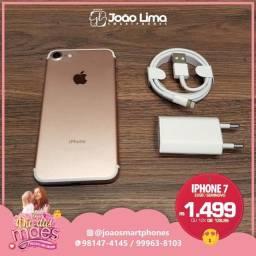 IPHONE 7, 32GB, ROSE, SEMINOVO, DISPONÍVEL