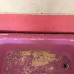 Banheira ferro fundido