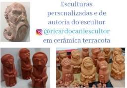 Escultura por encomenda de Cerâmica - Ricardo Cani Escultor