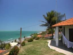 Casa com vista paradisíaca em Barreiras Icapuí Ceará