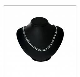 Cordões e pulseiras prata pura
