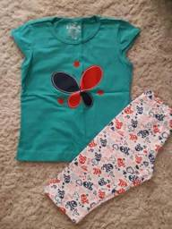 Conjunto legging Cotton