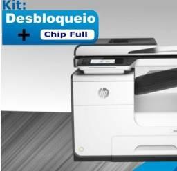 HP Pro X 477 ou 452 - Instalação do Bulk Ink