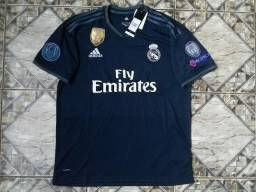Camisa Adidas Real Madrid Torcedor 2018/19 UCL Patch