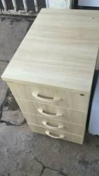 Armario baixo para escritorio gavetas de aco usado