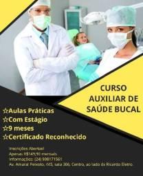 Curso Auxiliar de Saúde Bucal
