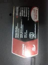 Notebook positivo Premium TV xs3210 - retirada de peças