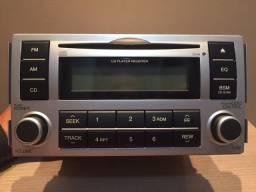 Rádio/CD Player Original - Hyundai Santa Fé (2006 a 2009)