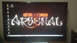 "TV lcd 42"" LG - troco por TV 32"" - na grana 550$"