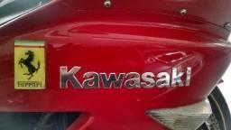 Kawasaki Zx-14/zx 2006 18.000Km Vermelha Ferrari Trco/Carro/Moto - 2006