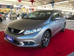 Honda Civic LXR 2.0 Top Automático Muito Novo Apenas 52.000 Km 04 Pneus Novos - 2015