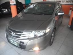 Honda city automático banco de couro mto novo - 2010