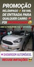 Recuse IMITAÇÕES!! R$1MIL DE ENTRADA(FORD KA SE 2015)