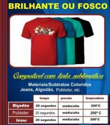 Obm Sublimático Para Camisetas Escuras A4- 10 Folhas