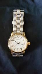 3ebc3147453 Relógio Montblanc aço e ouro Original