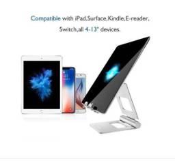 Suporte Dobrável Ajustável Para Celular/tablet Metal Resistente Licheers