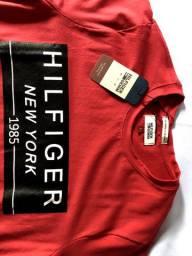 Camiseta Tommy Vermelha + brinde
