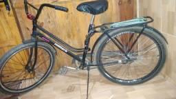 Troco bicicleta semi nova em um celular