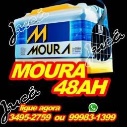 Bateria Moura 48 AH- ideal para o seu carro