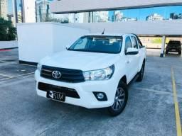 Toyota Hilux CD 2.8 Std 4x4 Diesel - 2018 - Único Dono