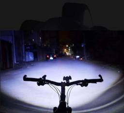 Farol De Bike E Lanterna De Cabeça Bike Lights Usb