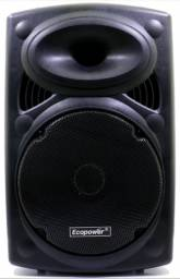 "Caixa AmplificadaEcopowerEP-1904 - Bluetooth - USB/SD/AUX - 12"""