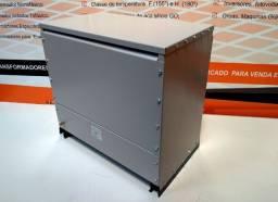 Autotransformador trifásico 45kVA, 380/220v+N e 480/220v+N