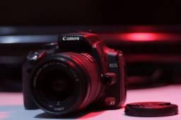 Troco Câmera Canon XT lente 18-55 cartão de memória e carregador