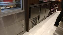 Balcão inox - Refrigerador, freezer e expositor quente frio