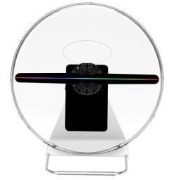 Display de holograma 3D com capa protetora