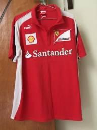 Camisa masculina Ferrari original
