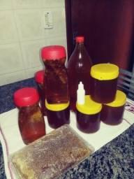 Mel de abelha e própolis