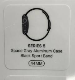 Relógio Apple Watch Series 5 44MM, Preto Space Gray,Novo