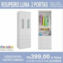 Roupeiro Luna 2 portas