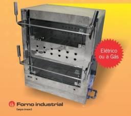 Forno Industrial a Gás e elétrico 300 graus 1, 2 ou 3 câmaras