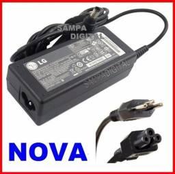 Título do anúncio: Carregador Do Notebook LG C400 A410 R410 19v 3.42a