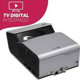 Projetor curta distância cinebeam Lg  c/ tv digital e nf