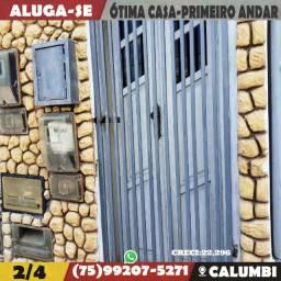 Casa 2/4-Primeiro Andar-Acesso Independente-Feira de Santana-Ba